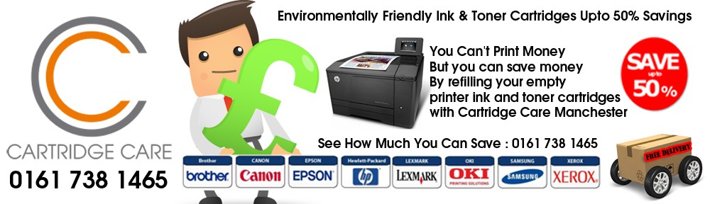 Refilled Printer Ink Cartridges Manchester