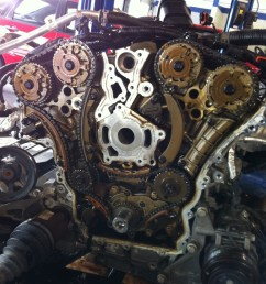 chevy traverse engine removed replacing timing chains [ 775 x 1037 Pixel ]