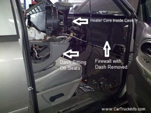 1967 Mustang Gauge Wiring Diagram How To Replace Chevrolet Trailblazer Heater Core