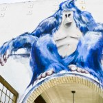 The Big Blue Gorilla on Market Street by Isabelle Alford-Lago