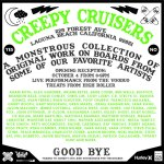 Creepy Cruisers Art Show Tonight at 225 Forest