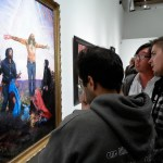 "Opening Night of ""Crucifixion"" at Corey Helford Gallery"