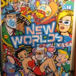 "Exclusive Preview: Speedy Graphito Braves ""NewWorlds"" at Fabien Castanier"