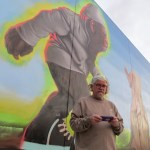 Photos! It's Legal! And Big! New Ron English Mural in LA Arts District