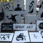 Banksy Subverts Galleries, Vandals, Sells in Central Park