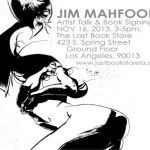 Jim Mahfood Artist Talk and Book Signing at The Last Bookstore