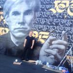 Cryptik Movement Warhol Mural Unveiling