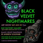 The Slow Poisoner Black Velvet Nightmares at the Rat Factory in Hollywood