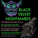 The Slow Poisoner Black Velvet Nightmares at the Rat Factory in Hollywood