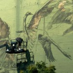 Street Artist Faith47: New DTLA Mural