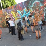 N. Arts District Tour to benefit Art Share LA. Sponsor: Angel City Brewery