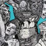 "Trace Mendoza's ""Always Lurking"" at Daniel Rolnik Gallery opens Dec. 12th, 2015"