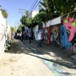 Cartwheel Art Tours x Obscura Society LA in Gabba Arts District: Mural Tour and The Gabba Gallery Preview of \Brit-fluence(d)\, a BritWeek Art Show