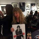 Coverge from Tuesday Night's Book Signing & Talk, with Lynn Goldsmith, at the Morrison Hotel Gallery