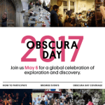 Save the Date: Obscura Day Tours with Cartwheel Art x Atlas Obscura – Saturday May 6th