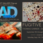"Save the Date: Opening Reception for ""Fugitive Spirit"" Sculptures by David Hollen & Paintings by Thomas Garner at District Gallery Pop Up – September 9th"