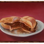 Gregg Gibbs' Paintings of Sensual Sandwiches Are Showing at Philippe The Original – Saturday, September 29