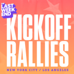 SAVE THE DATE: Join Swing Left's Free 'The Last Weekend' Kickoff Rally – Thursday, November 1