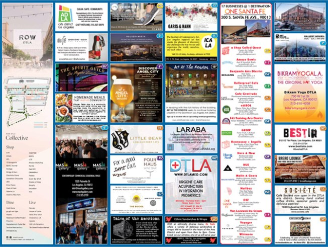 Click here to download a PDF of the DTLA Arts District Map
