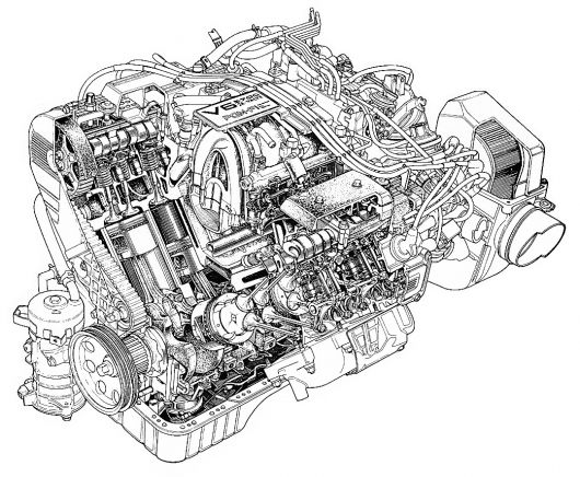 Internal Combustion Engine Diagram Of A Show How, Internal