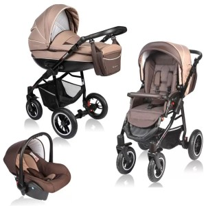 Carucior Crooner Vessanti 3 in 1 Beige