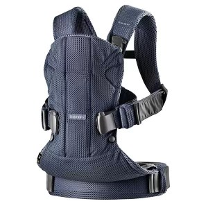 marsupiu anatomic babybjorn one air navy blue 3d mesh 1
