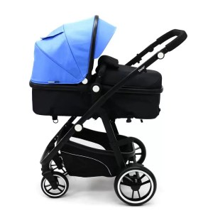 Carucior 3 in 1 Asalvo CONVERTIBLE TWO blue 1