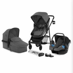Carucior Juli Kinderkraft 3 in 1 grey