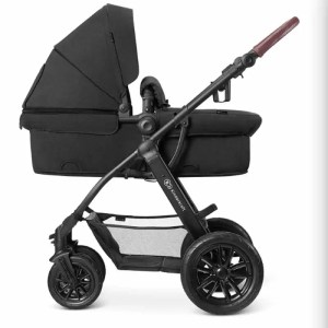 Carucior XMoov Kinderkraft 3 in 1 black 1