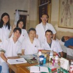 Frank Caruso With Interpreters and head doctor. NanJing University Hospital