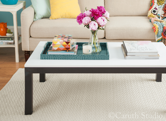 Styled-coffee-table