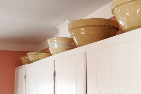 Yellow-ware-bowl-collection