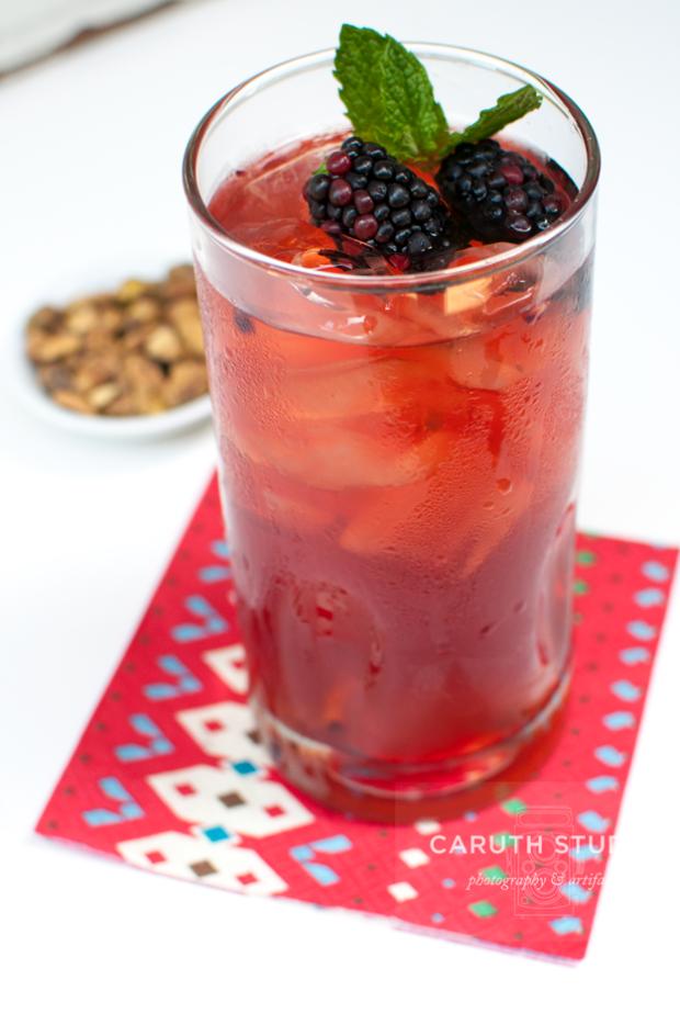 Blackberry Lemon Iced Tea