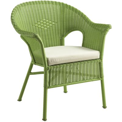 Casbah Green Stacking Chair