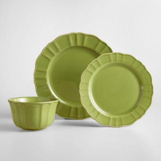 Verde Dinner Plates Set of 4