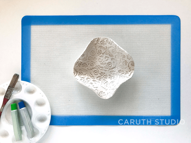 Remove baked bowl from form