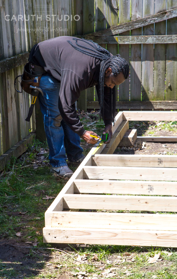 Adding floor joists