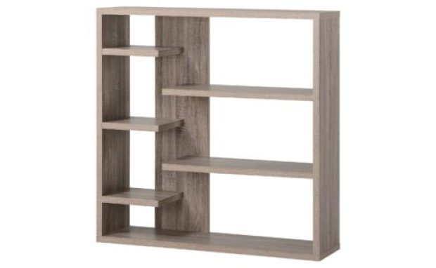 Wide 6 Shelf Hollow Core Bookcase - Homestar