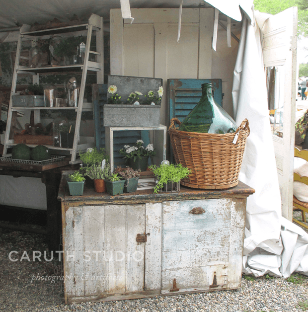 Brimfield cottage antiques