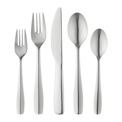 DOFTSAM 20-piece flatware set, stainless steel