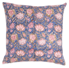 Meridian Block Print Pillow