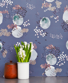 Removable Wallpaper in Delicate Thoughts