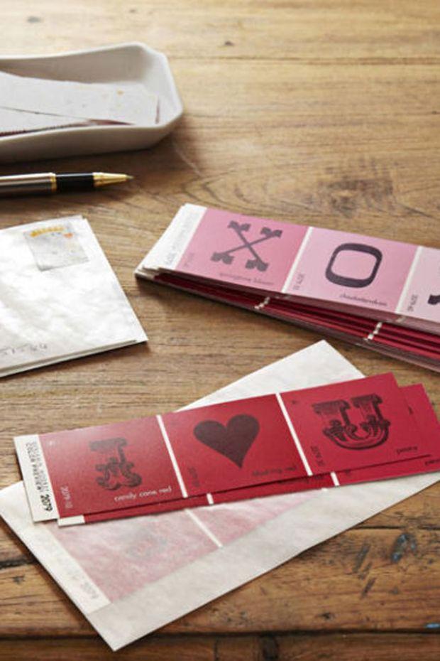 Paint Strip Cards