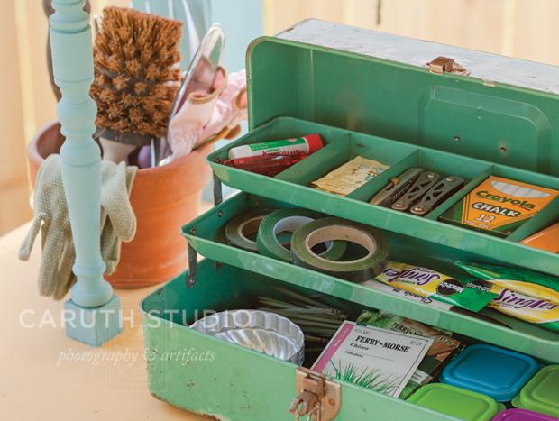 Tackle box storage
