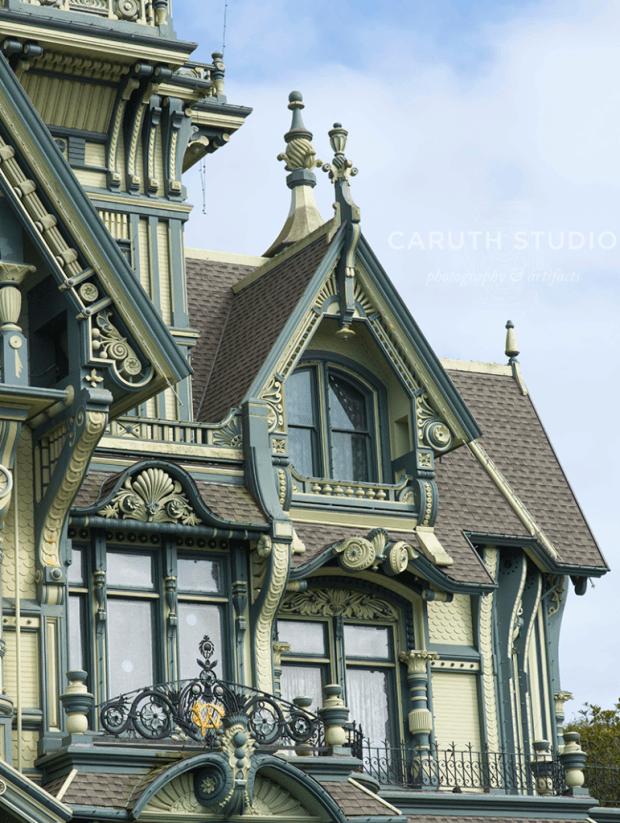 Carson Mansion ornamentation