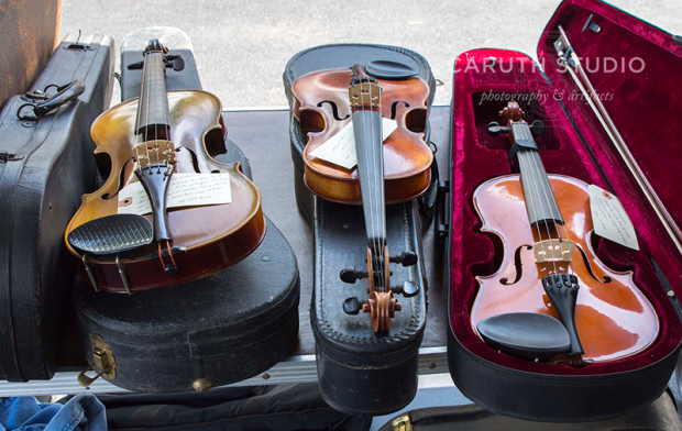 antique violins and violas