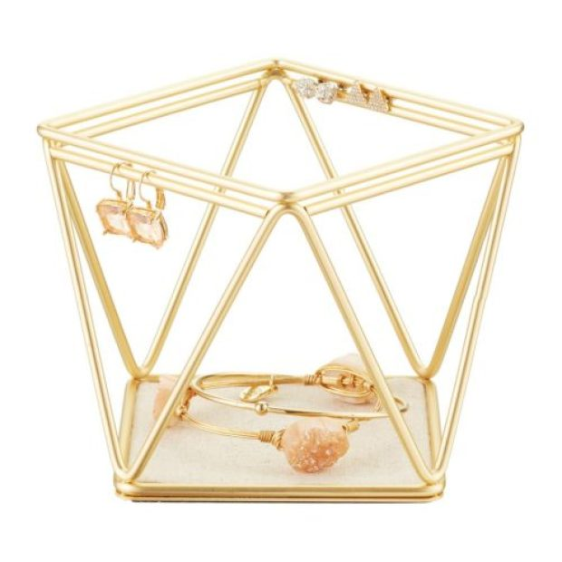 Umbra Gold Prisma Bracelet & Earring Holder
