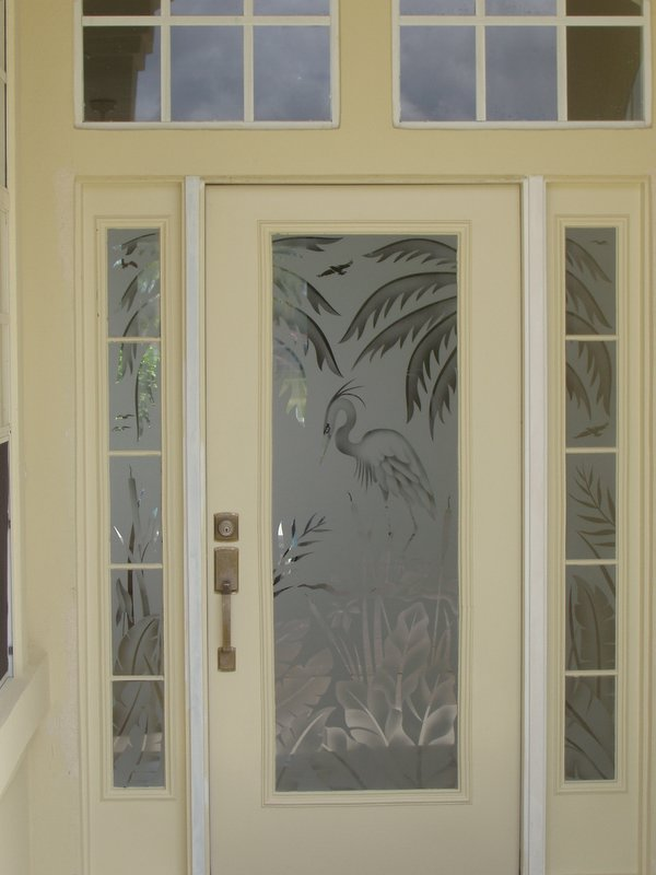Etched Glass, Custom Glass Etching and Frosted Window