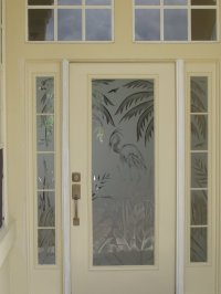 Etched Glass, Custom Glass Etching and Frosted Window ...