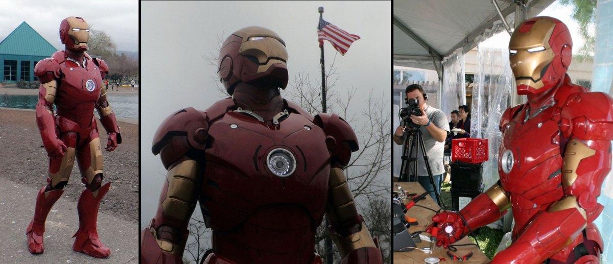 CarveWright made Iron Man Suit
